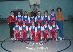 1998-1999 CAYSA Winter