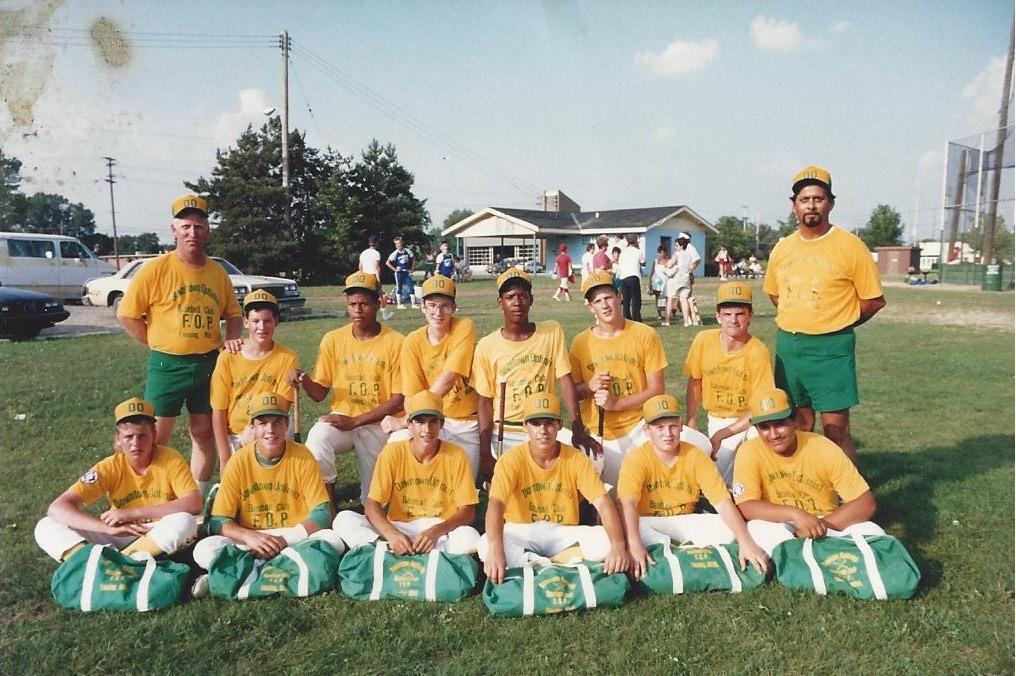 1981 Downtown Optimist 14U Team
