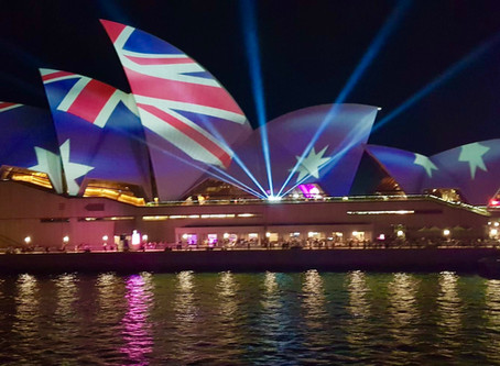 Australia Day-Sydney Harbour.  Tall ships, ferry races, cannons, jets  fireworks & more... SUCH FUN!