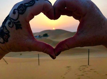Abu Dhabi to London: Desert dunes to dungeons..