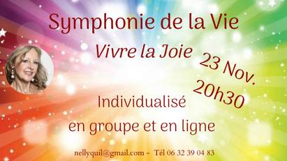 Symphonie de la vie 23 Nov. 20h30