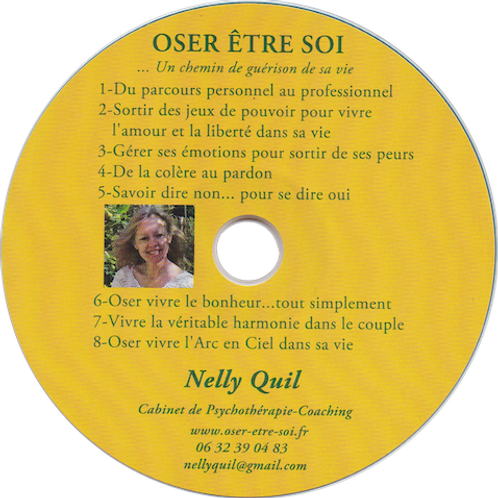 """Audios """"Oser Être Soi"""" I - Nelly Quil"""
