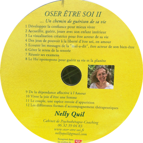 """CD """"Oser Etre Soi"""" - Nelly Quil"""