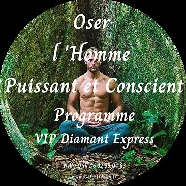 Oser l'Homme Conscient et Sacré - VIP Express