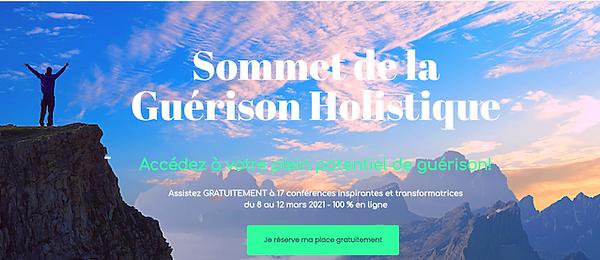 Sommet Guérison Holistique - Réduit