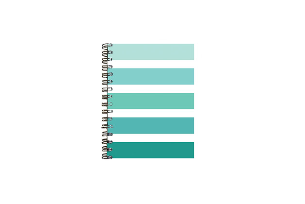 CUADERNO CANDY STRIPES - MINT