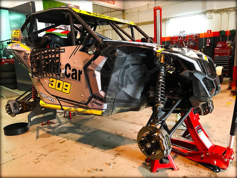 Kit AP Racing instalado - Can-Am Maverick X3