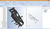 Logiciel 3D SL-ASSEMBLY pour la simplification et la projection de fichiers DAO lourds 3D