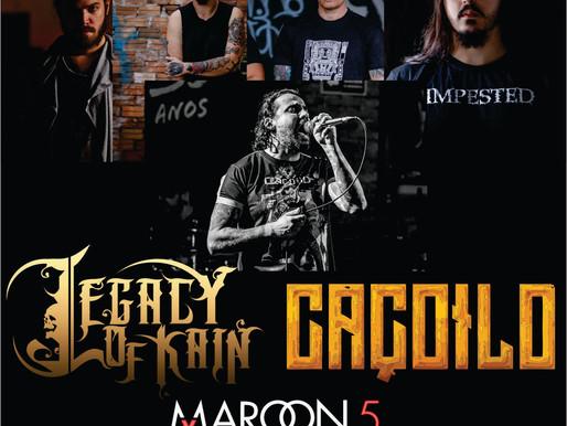 Legacy of Kain e Leandro Caçoilo juntos em versão do Maroon 5