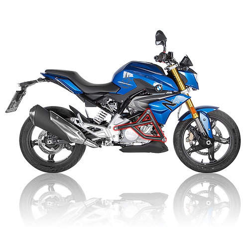 BMW G310R 2016- Street Crash Cage with Sliders right view