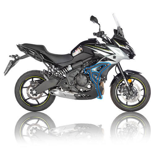 Kawasaki Versys 650 2015-2019 Street Crash Cage with Sliders