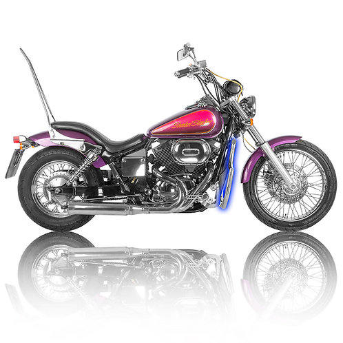 Honda Shadow Spirit / Slasher 2000-2007 Stainless Steel Crash Bars