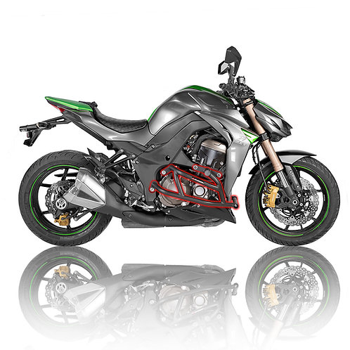 Kawasaki Z1000 2014-2018 Street Crash Cage with Sliders right side