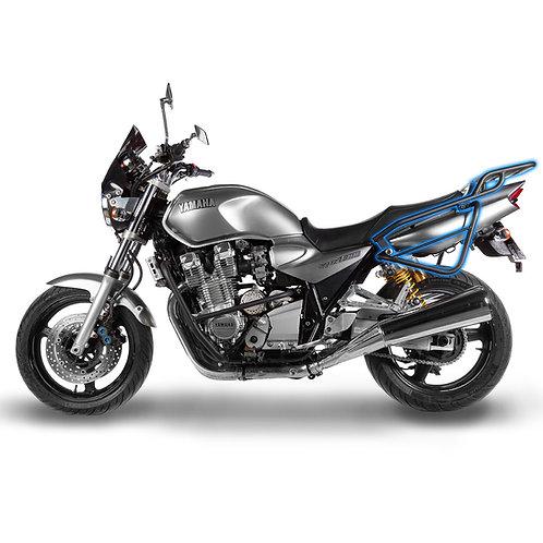 Yamaha XJR1200 XJR1300 Rear Luggage Rack & Soft Side Bag Stays left side