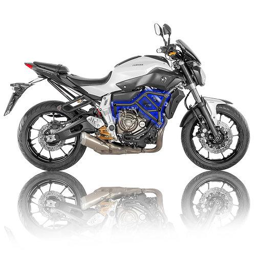 Yamaha MT-07 FZ-07 2014-2020 Stunt Crash Cage with Sliders