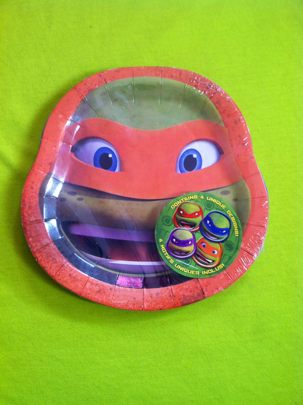 8 TMNT Teenage Mutant Ninja Turtles Cake Plates | partyinabox5