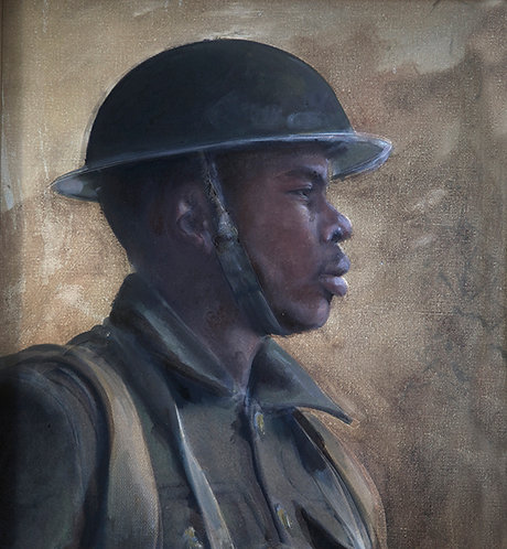 Soldier of the No. 2 Construction Battalion