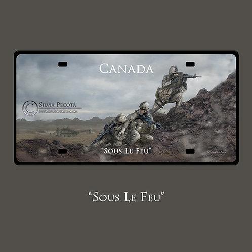 """(Infantry) """"Sous le feu"""""""