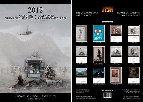 CF Calendar 2012