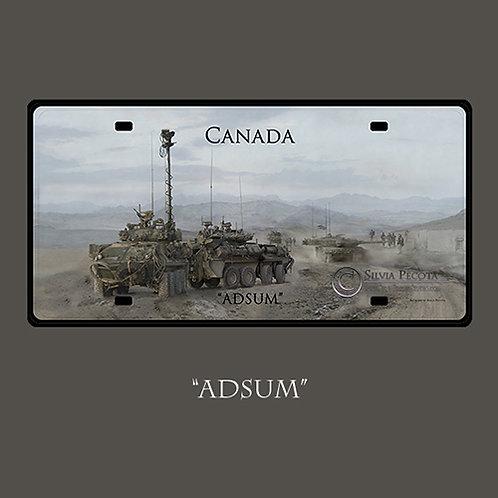 "(Armoured) ""ADSUM"""