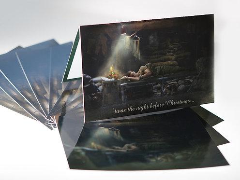 """'twas Night Before Christmas"" Set of 10 + bonus 5 PC"
