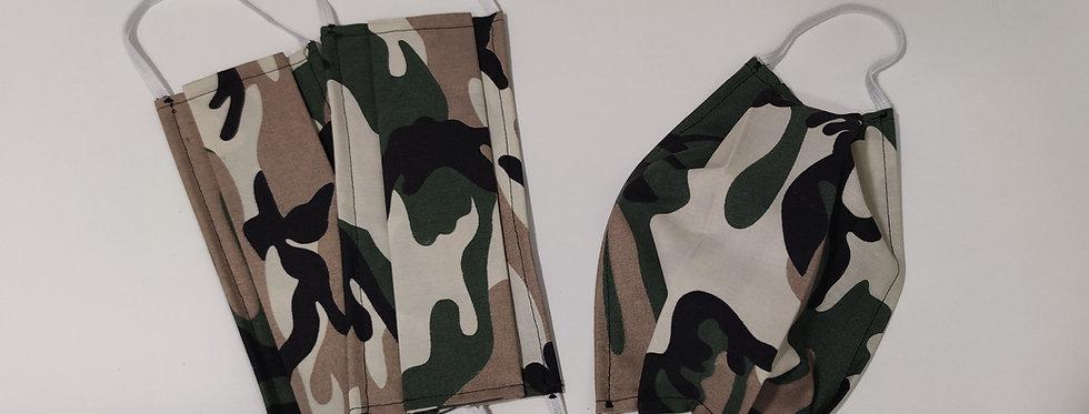 Masques AFNOR - Army Lot de 3