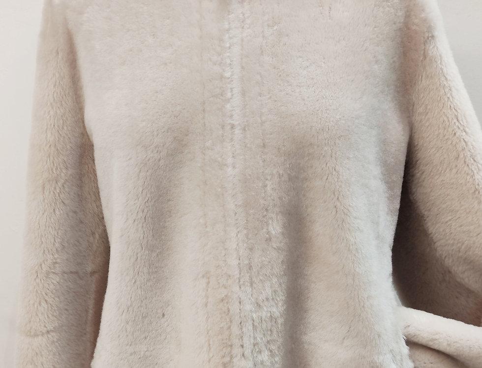 Veste sans col réversible - Abiola