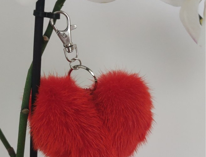 Porte Clef - Coeur - Saint Valentin