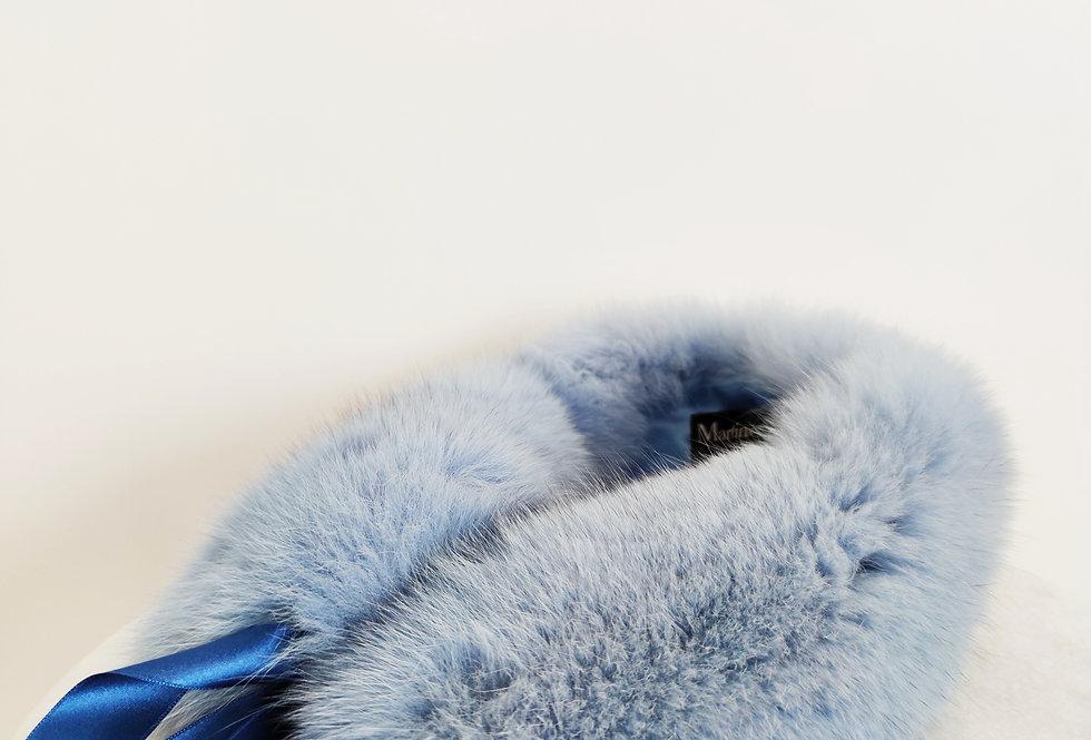 Tour de Cou - Bleu Lavande