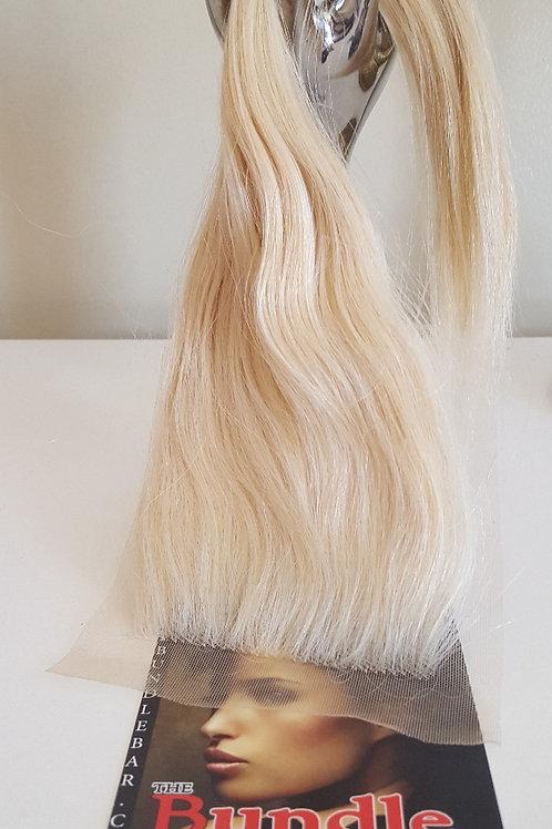 """14"""" Russian Blonde Closure 4 x 4"""