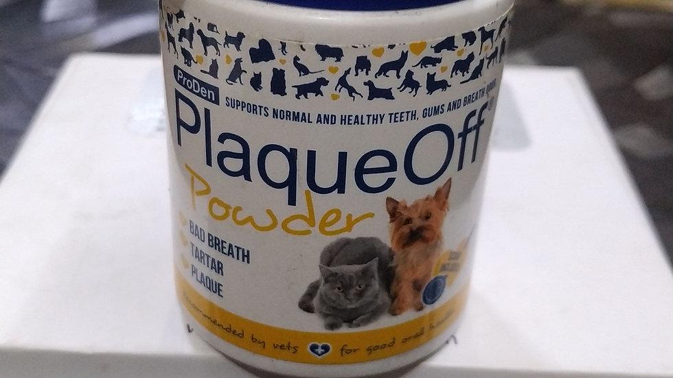 Plaque off powder
