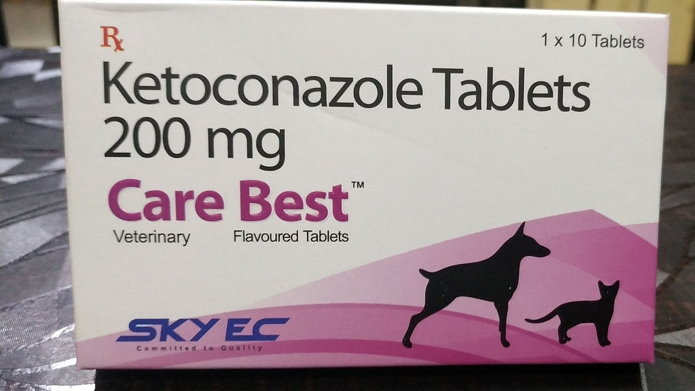 Care best( Ketoconazole ) tablets 200mg