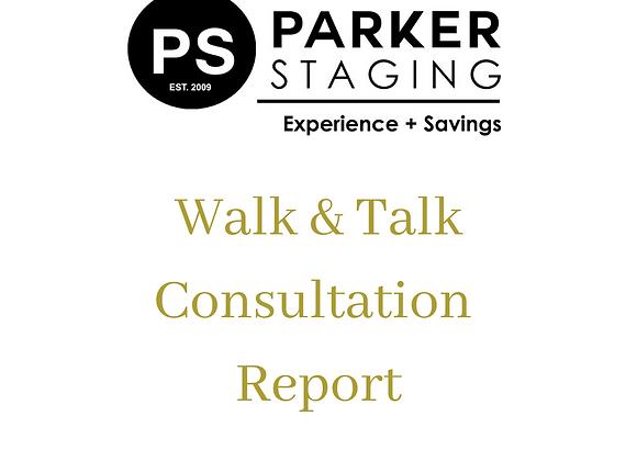 Wlak & Talk Written Report