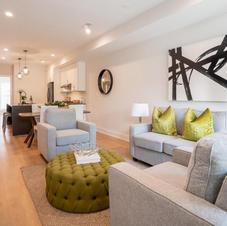 Contemporary Condo Living Room