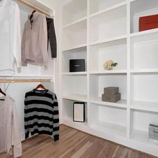 Staged Closet