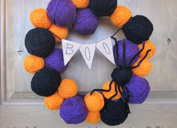 Halloween Door Wreath
