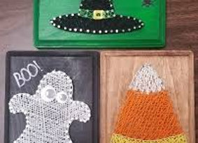 Halloween String Wall Art