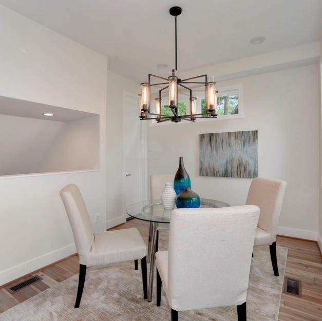 Transitional Small Dining