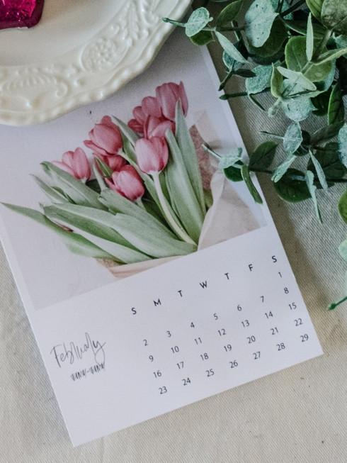 Kalendrid sinu joonistustega