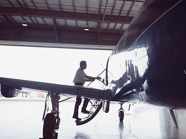Flugzeugwartung