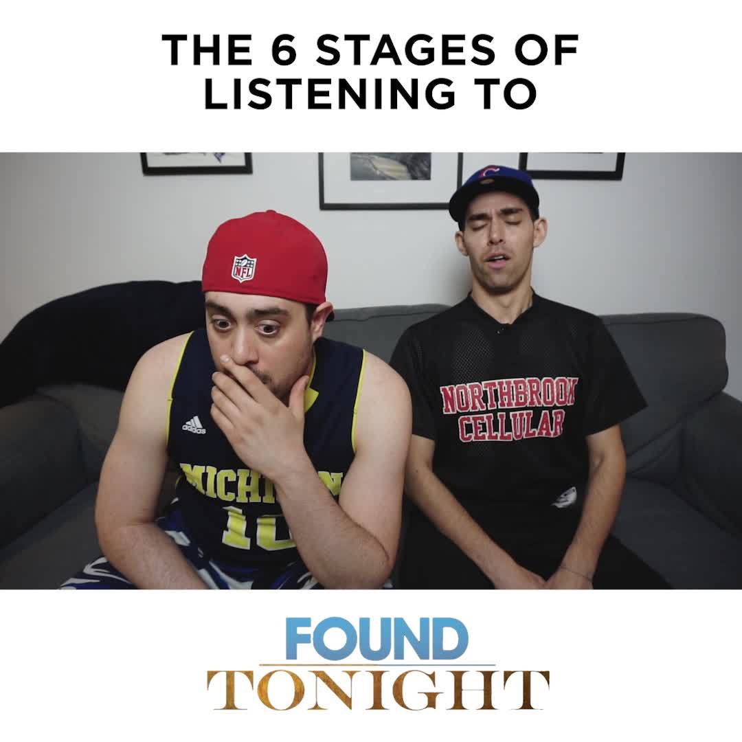BROdway: THE 6 STAGES OF LISTENING TO 'FOUND/TONIGHT'