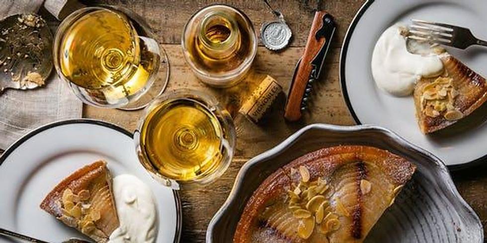 Matching wine with dessert