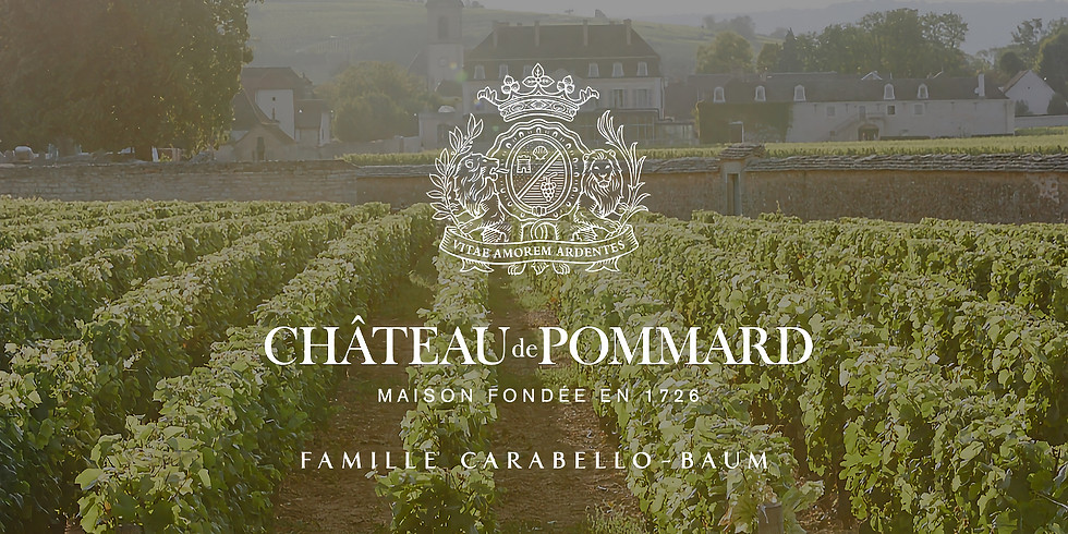 Special Bourgogne Wine Tasting - With Chateau de Pommard