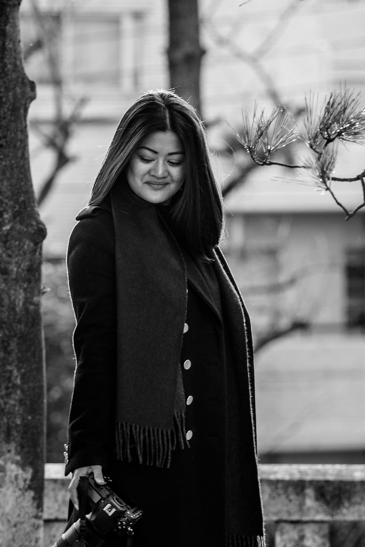 Anna Mae in Black and white