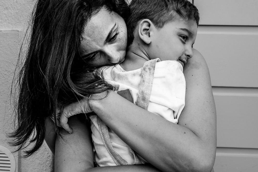 mamma and son