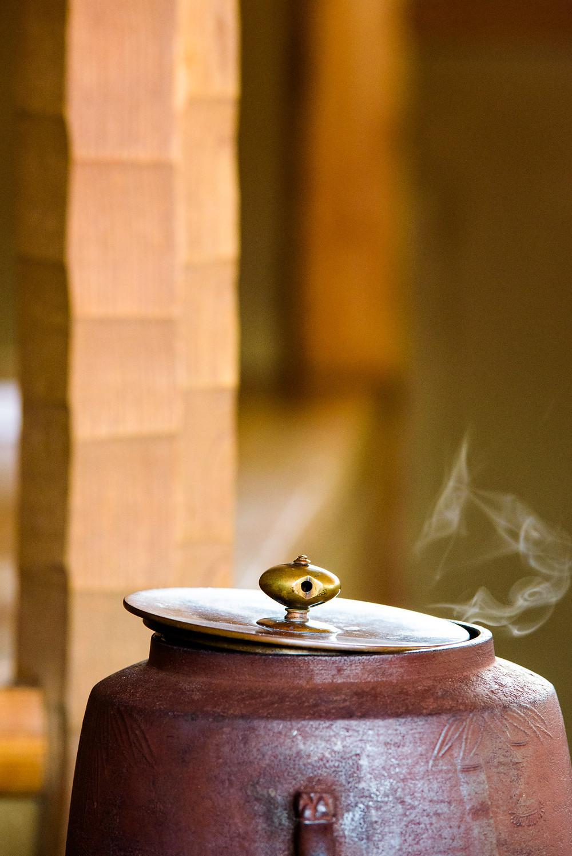 Hot pot of water