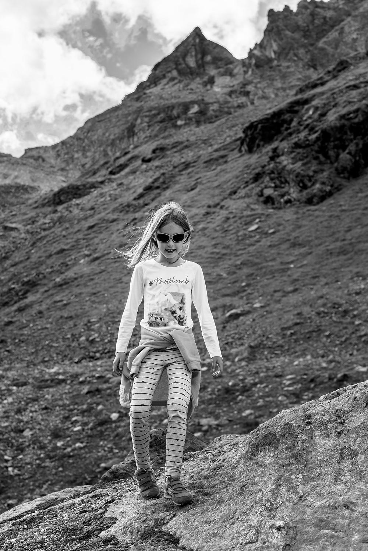 Amelia hiking