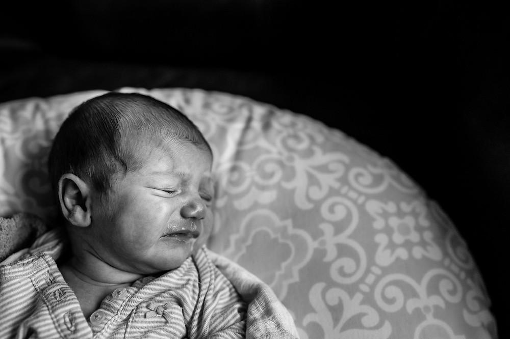 Baby nightmares and milk drool