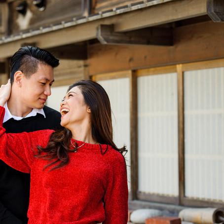 Vivi and Mika in Shirakawago