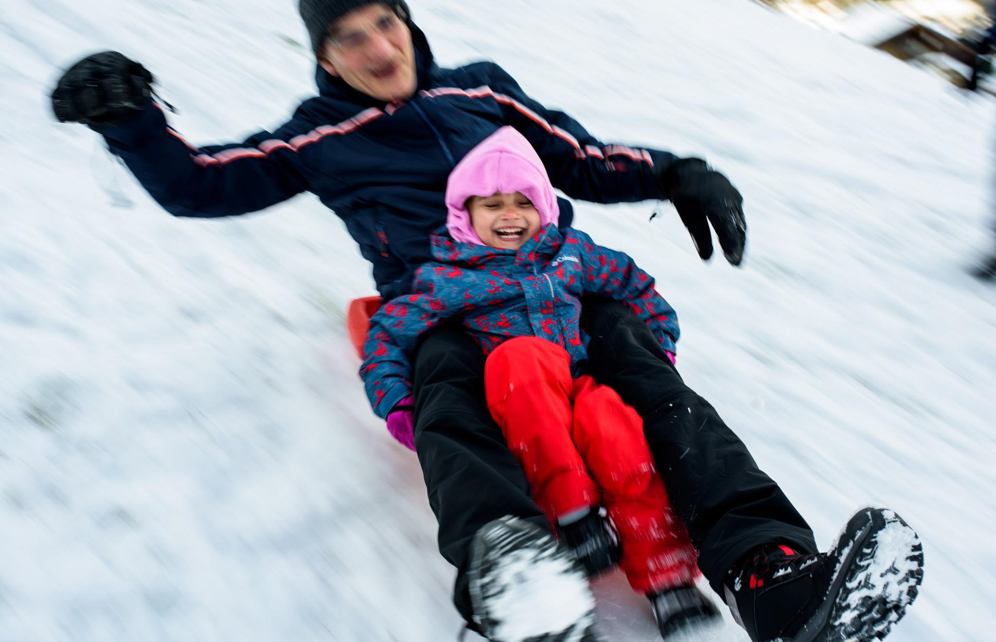 joy in sledding